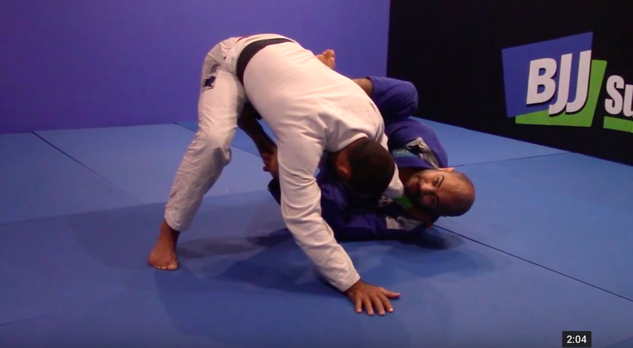 FREE Technique From My New Half-Guard DVD